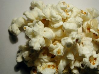 Popcorn med Bjäst ger en smörlik smak